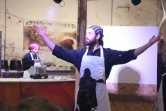 cooking pierogi