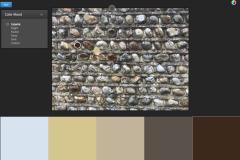 15.pebble wall